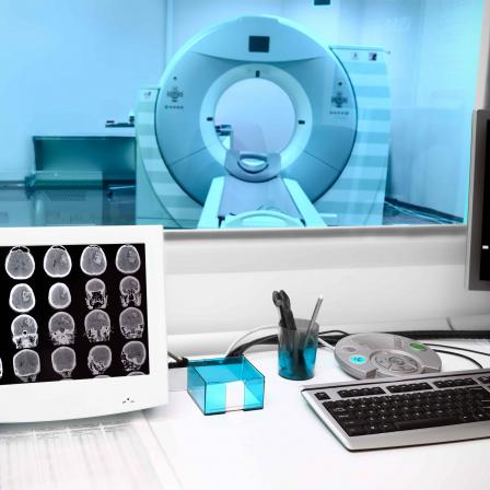 Hospital imaging and scans
