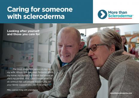 Caring for someone with scleroderma