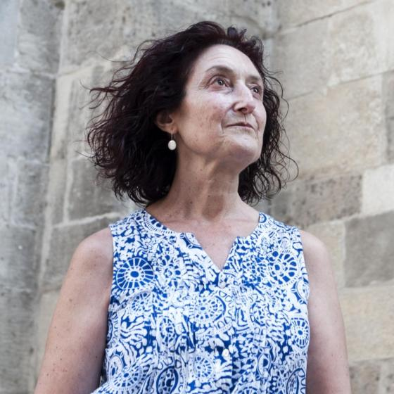 Teresa, a scleroderma patient