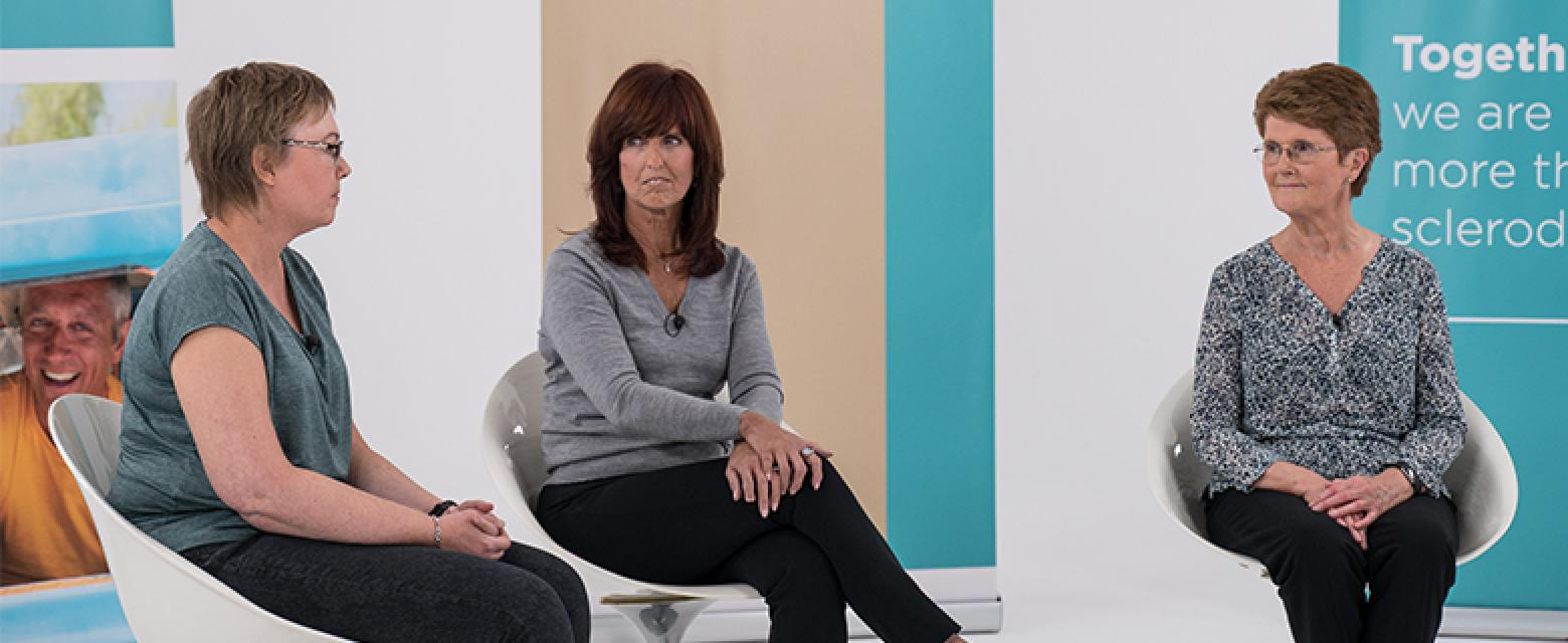 scleroderma talks - patients diagnosed with scleroderma